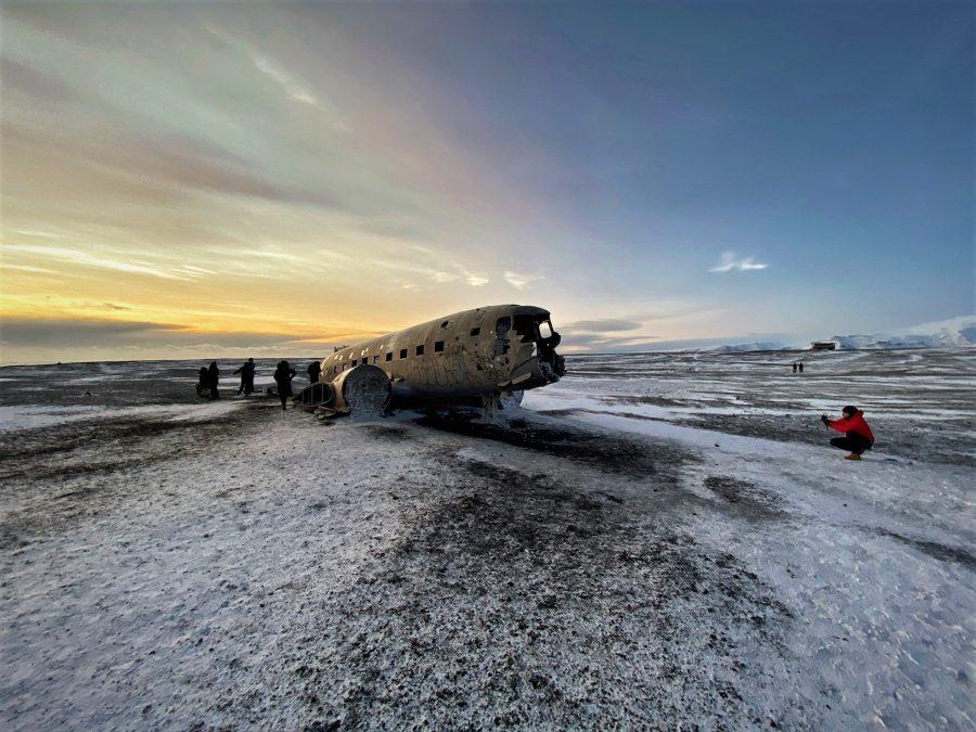 DC-3 Plane Wreckage, Islandia