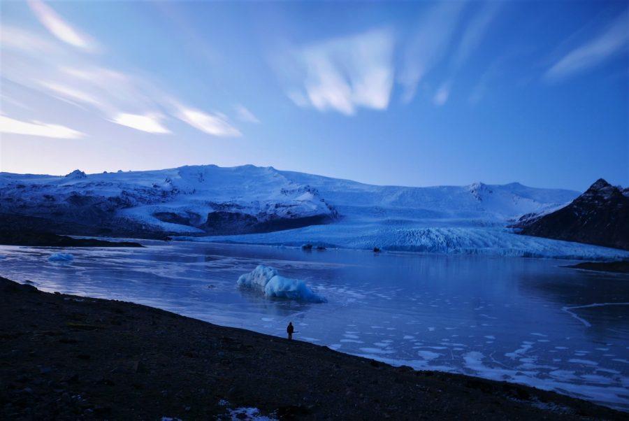 Islandia 7 días en invierno, glaciar Fjallsárlón