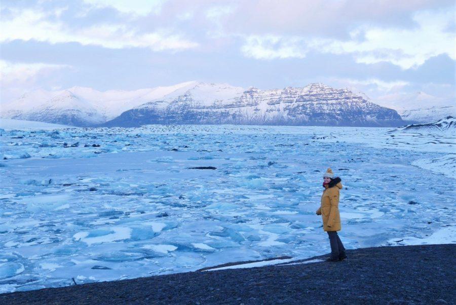 Jökulsárlón, viaje a Islandia en invierno