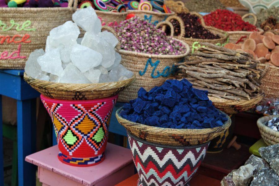 La plaza de las especias de Marrakech
