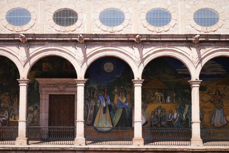 Murales del palacio de Gobernación de Michoacán, qué ver en Morelia México