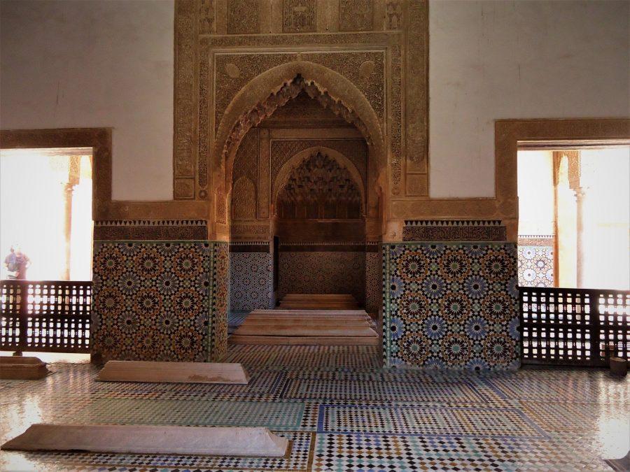 Tumbas saadíes, lugares que visitar en Marrakech