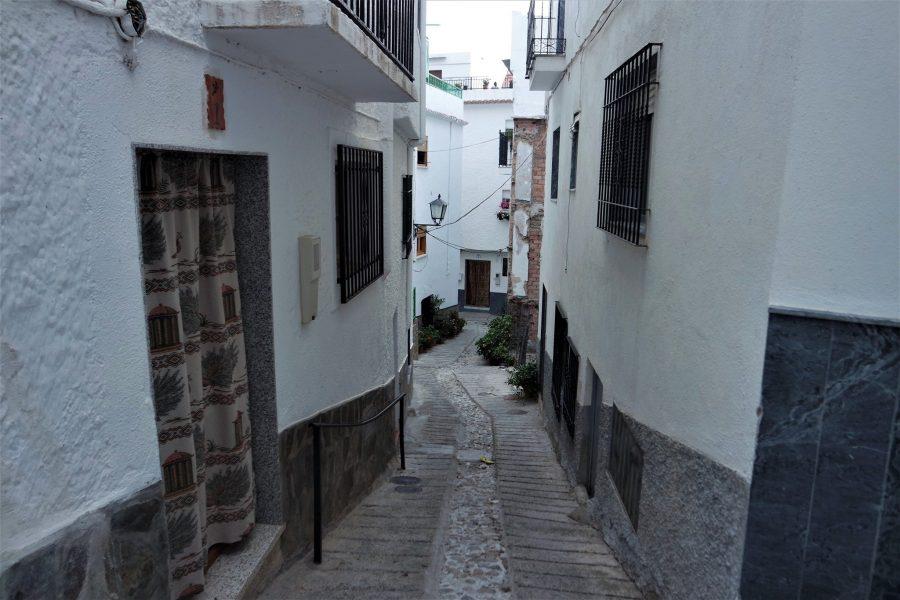 Calles de Soportújar, la Alpujarra de Granada