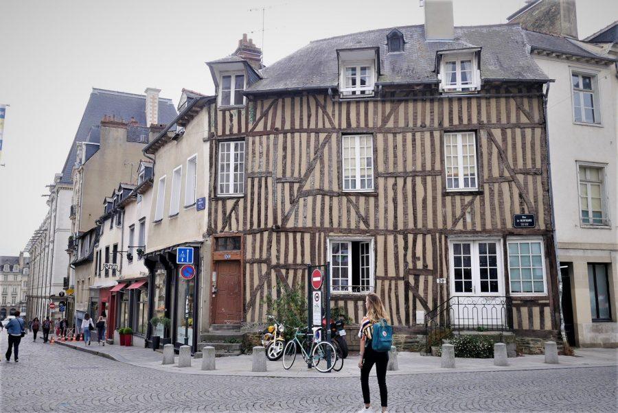 Calles del centro de Rennes