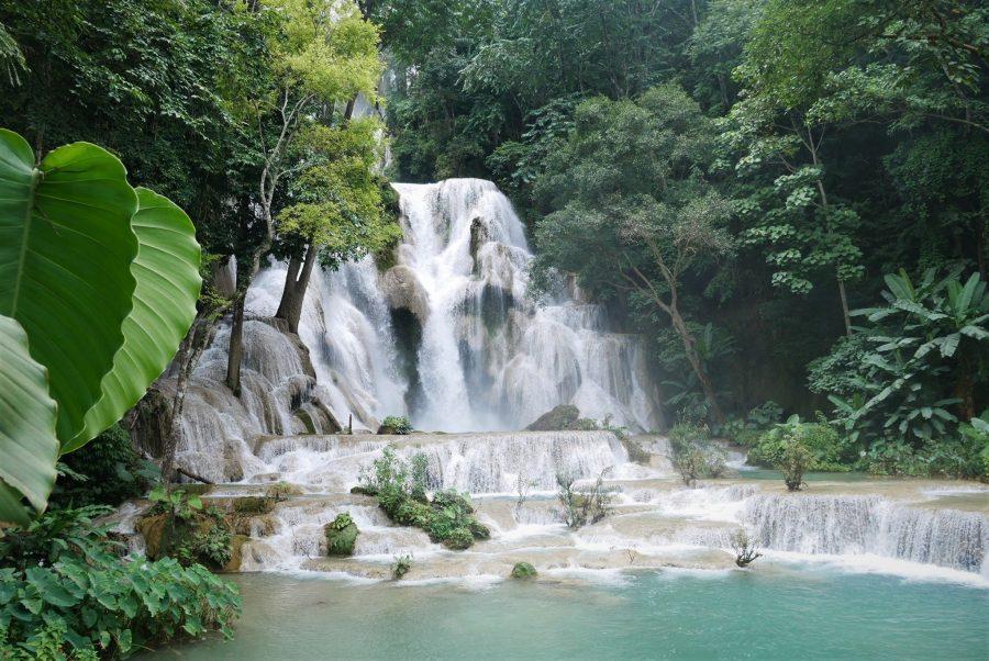 Cascadas de Kuang Si, Laos