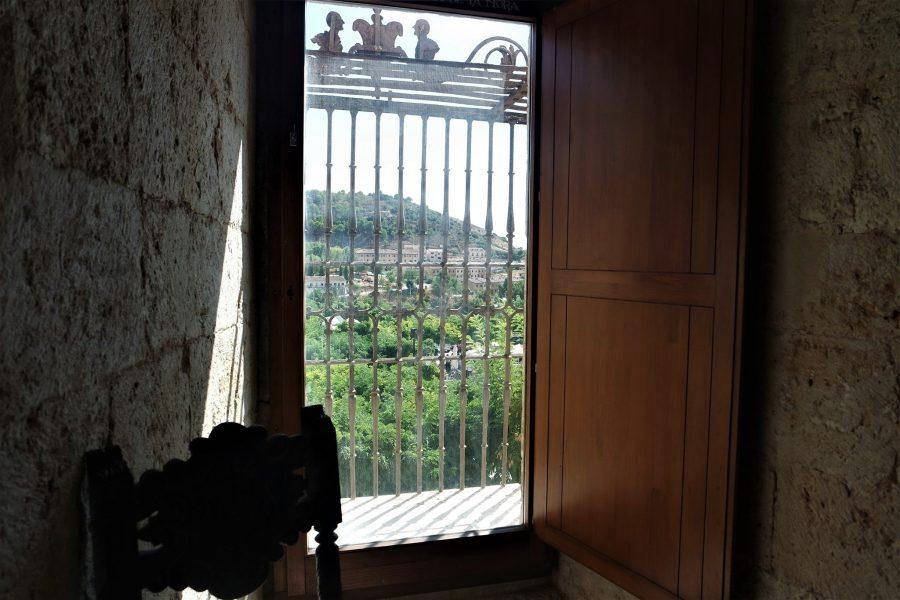 El balcón con rejas de la princesa de Éboli