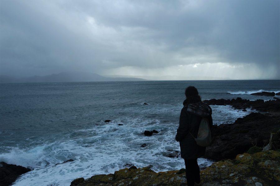 El mar en Fisterra, qué ver en Finisterre