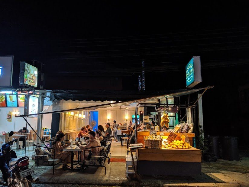 Locales de Vang Vieng
