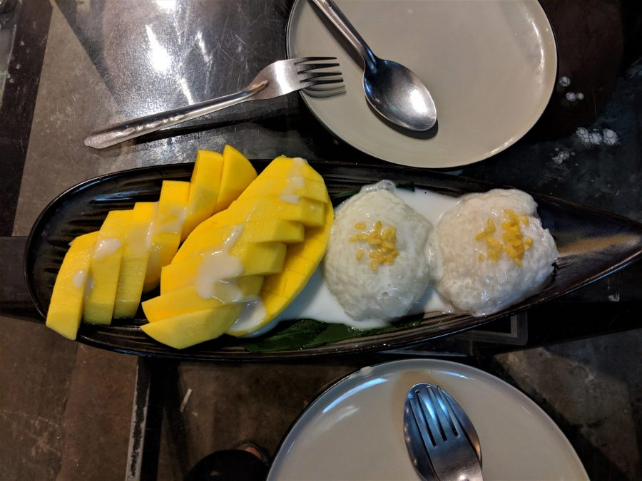 Mango Sticky Rice en Laos