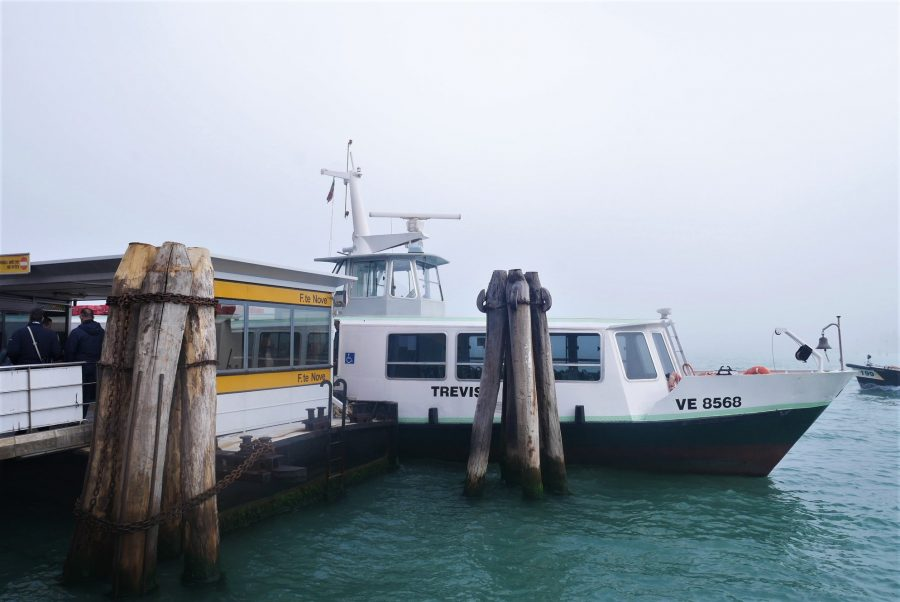 Muelle de F. Nova, cómo ir a las islas de Venecia