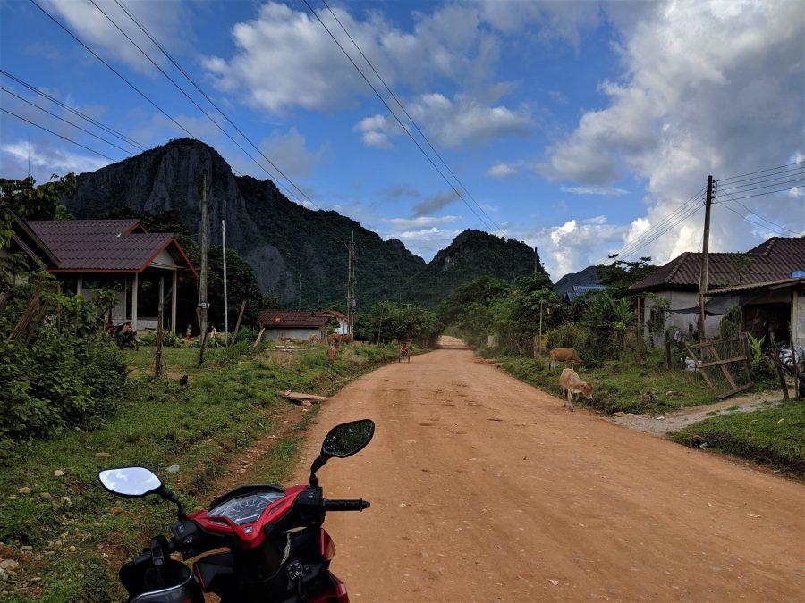 Ruta en moto por Vang Vieng, Laos