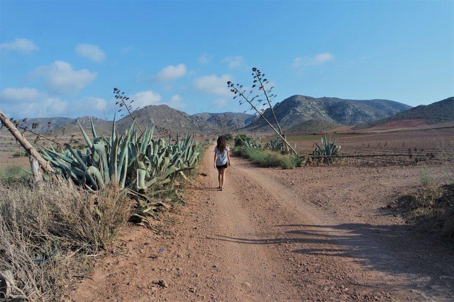 Senderos del Parque Natural de Cabo de Gata en Andalucía