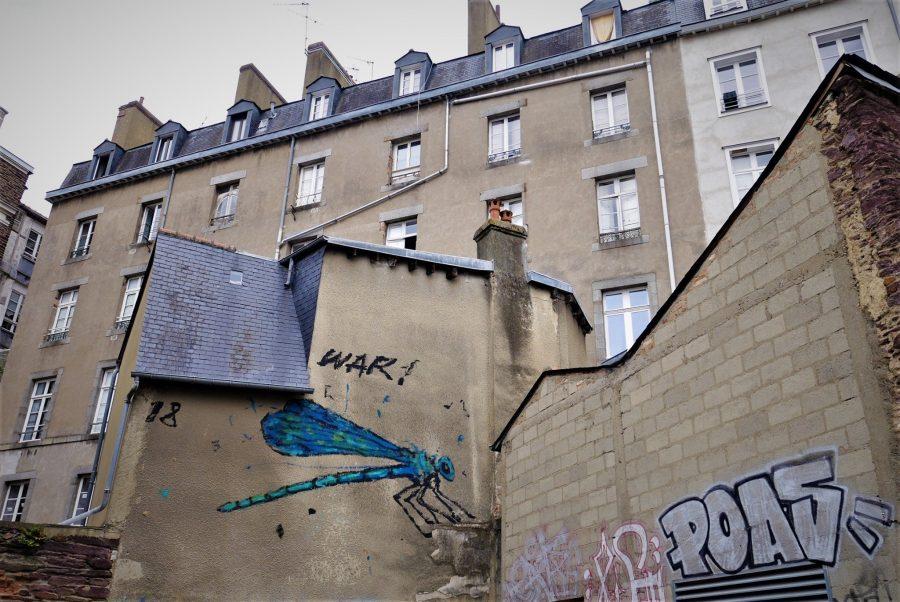 War, arte urbano en Rennes