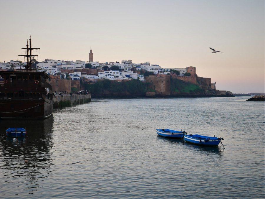 Atardecer en Rabat
