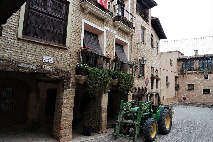Casas típicas de Alquézar