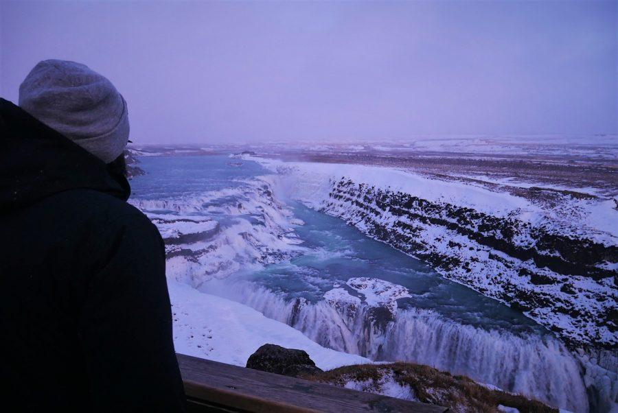 Cascada de Gullfoss, excursiones en Reykjavik al Círculo Dorado
