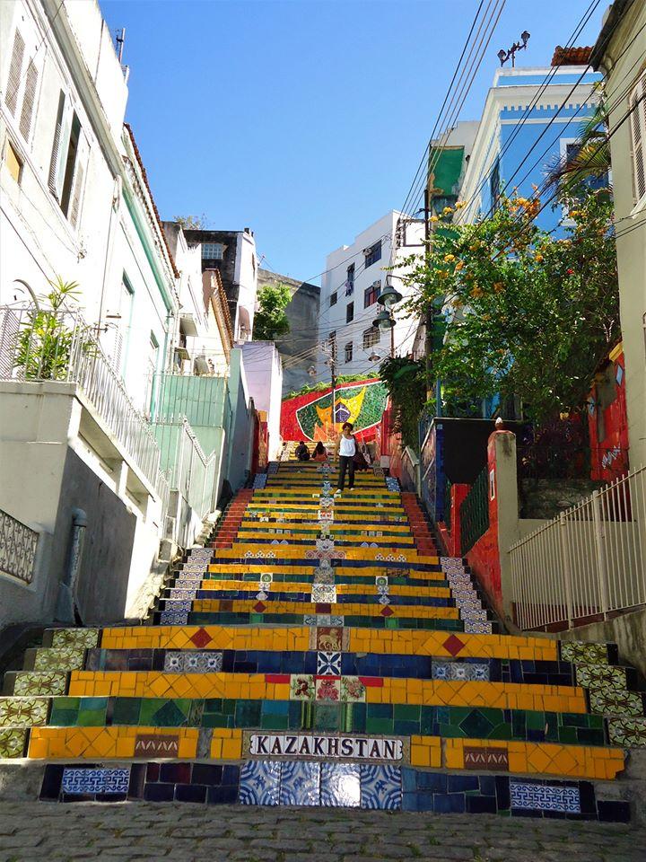 Escalera de Selarón, Río de Janeiro