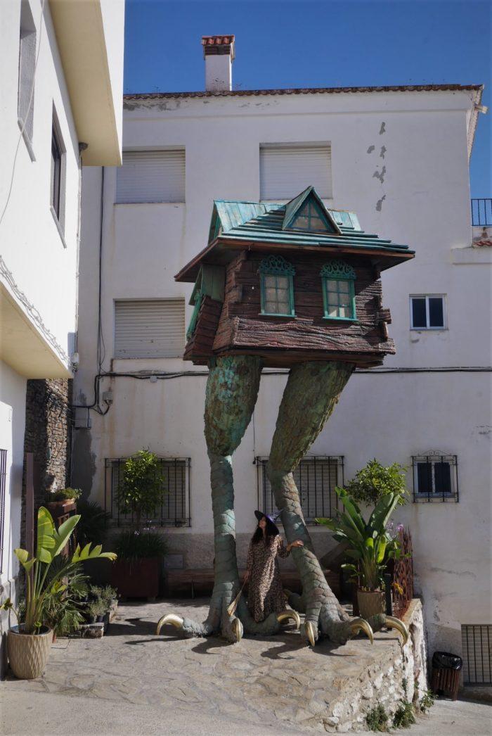 La casita de Baba Yaga en Soportujar
