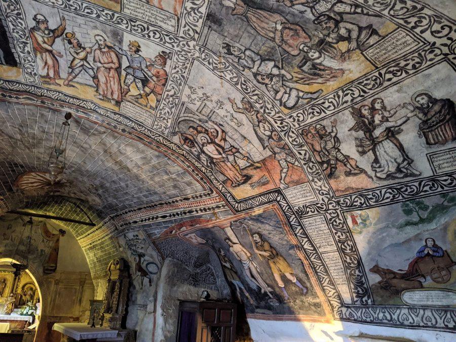 Murales de la ermita de San Bernabé