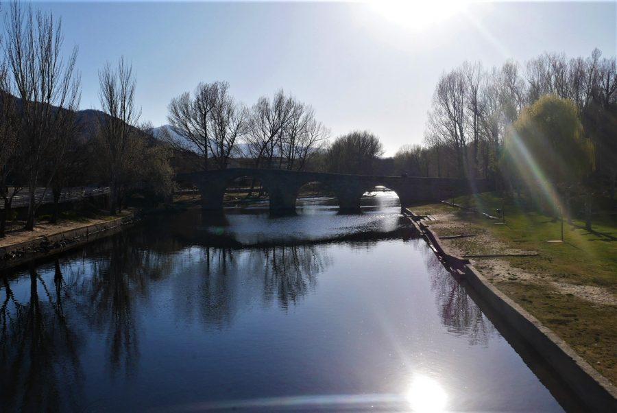 Piscinas naturales de Navaluenga en Ávila