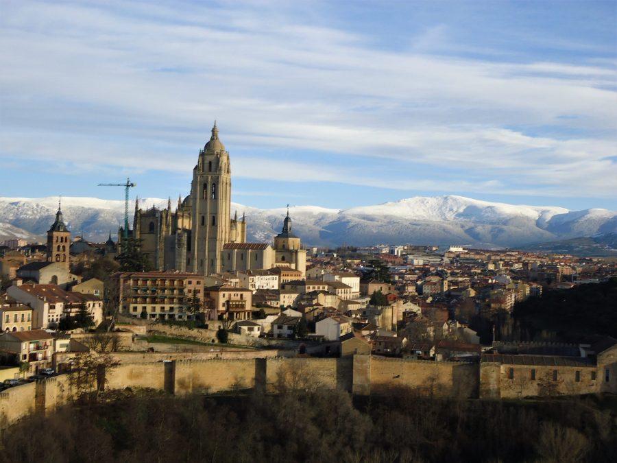 Vistas de Segovia desde la Torre del Homenaje, qué visitar en Segovia