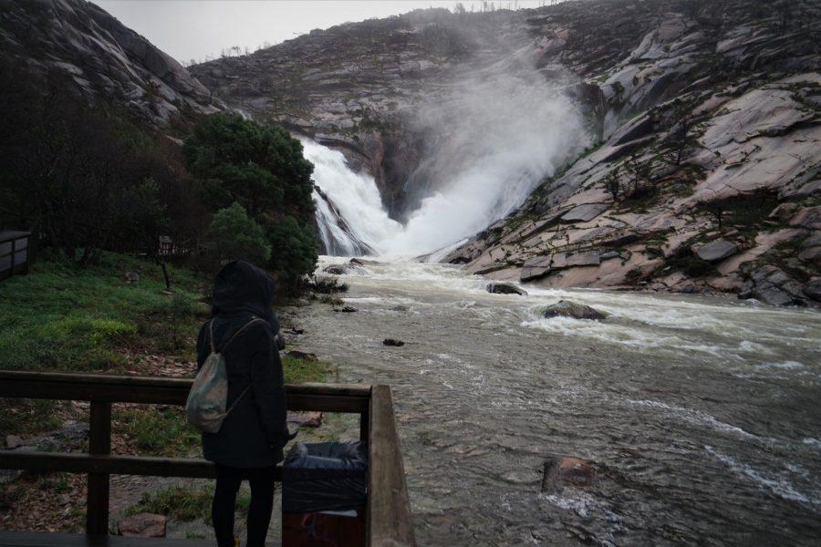 Cascada do Ézaro, ruta por Galicia en coche de 10 días