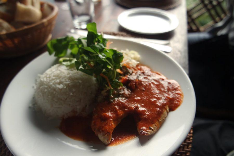 Pollo y arroz en Isla Mauricio, platos típicos del mundo