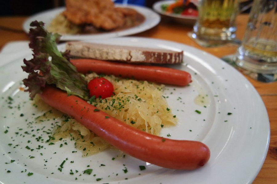 Salchicha tipo frankfurt en Alemania