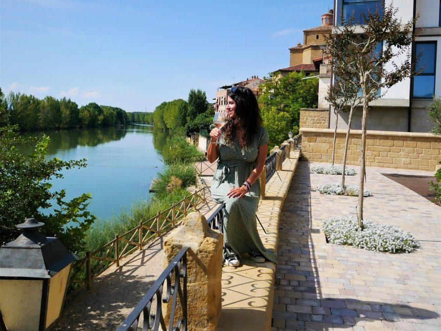 Un vino junto al Ebro en Briñas