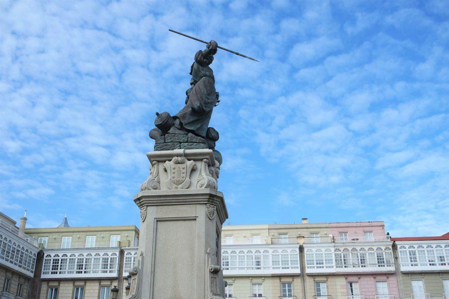 Estatua de María Pita, A Coruña