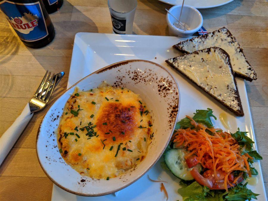 Pastel de pescado en Islandia, dónde comer en Reykjavik