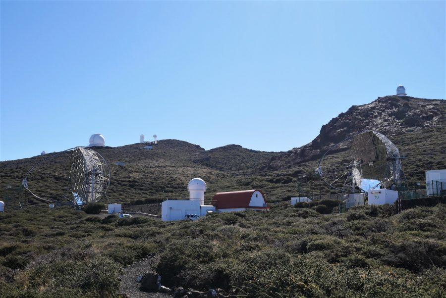 Telescopios de la isla de La Palma