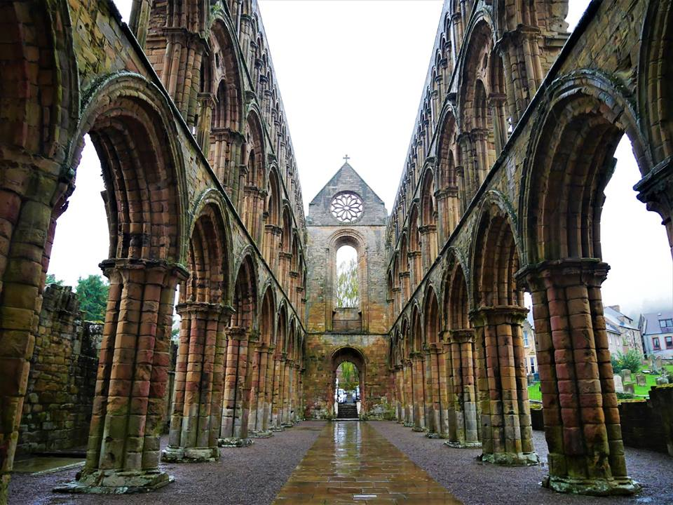 Abadía de Jedburg, Rutas por Europa en coche, el Sur de Escocia