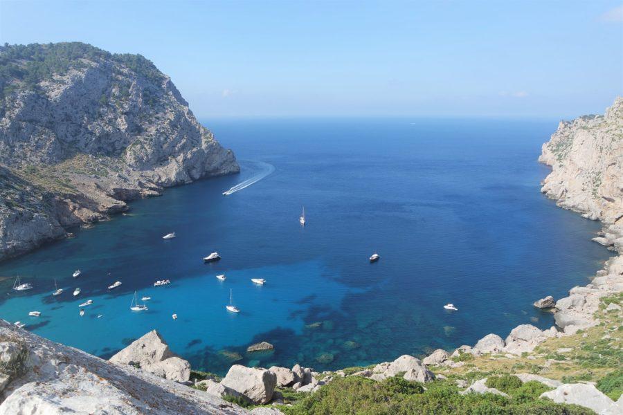 Calas del Cap de Formentor