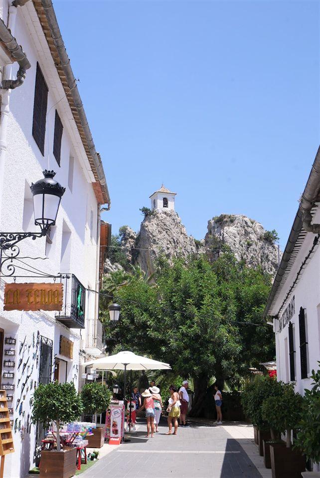 El Castell de Guadalest, Alicante