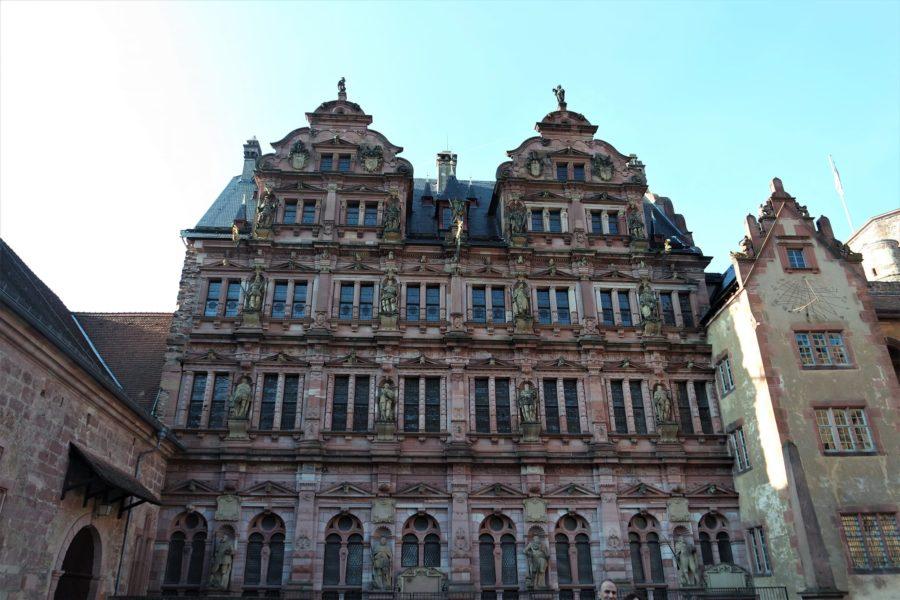 El Castillo de Heidelberg en Alemania