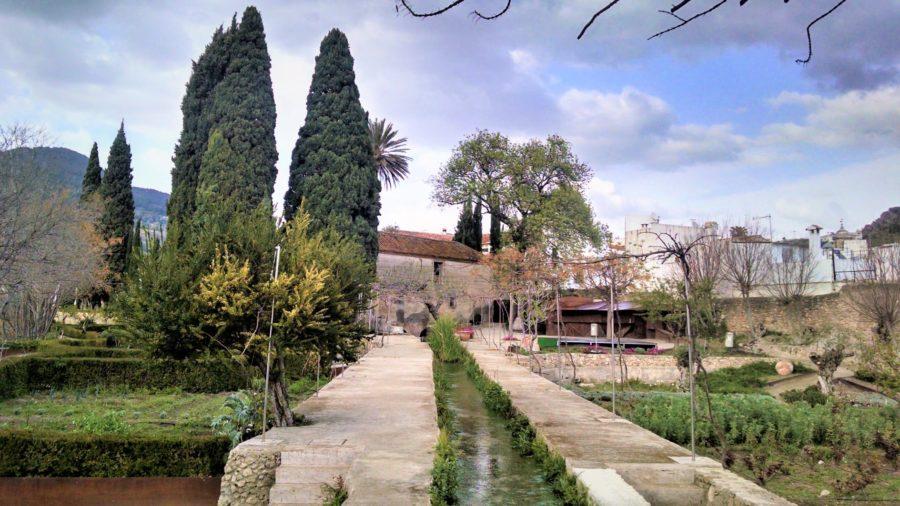 El Jardín Nazarí de Vélez Benaudalla, rincones secretos que ver en Granada provincia
