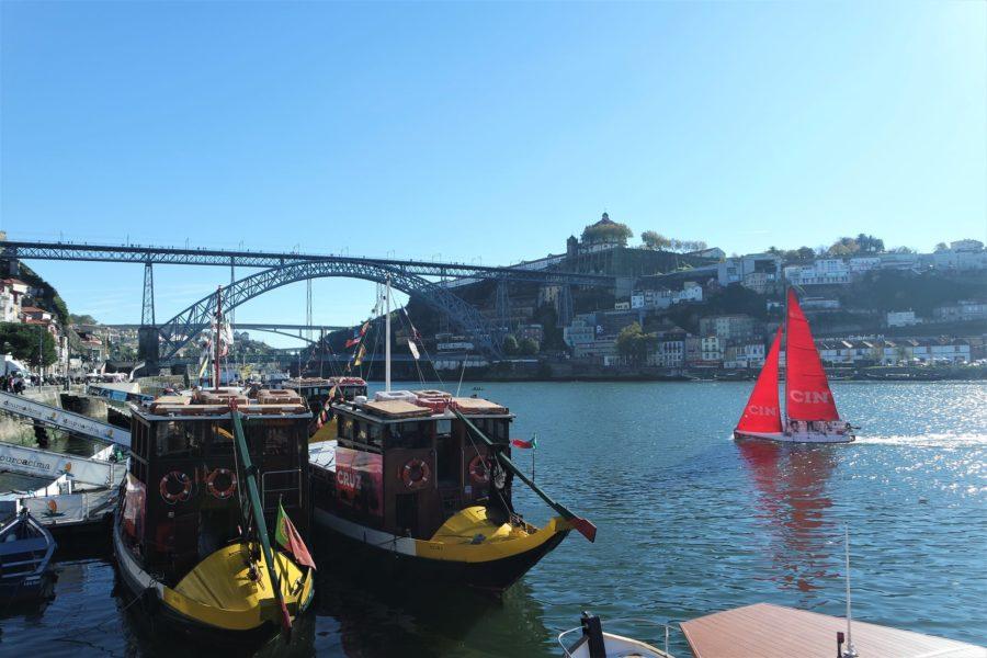 El río Duero a su paso por Oporto