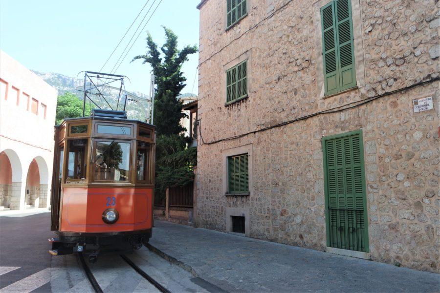 El viejo tranvía de Sòller, qué ver en Mallorca en 3 días