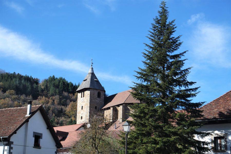 Iglesia parroquial de San Juan, qué ver en Ochagavía Navarra