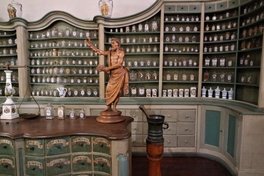 Museo Alemán de la Farmacia, castillo de Heidelberg