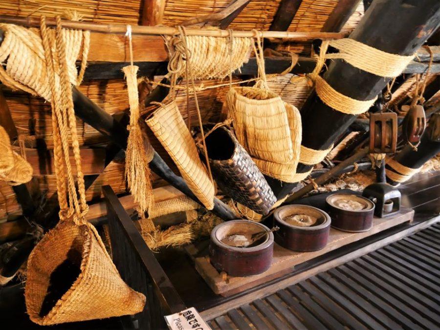 Objetos de la Casa-museo Wada-ke