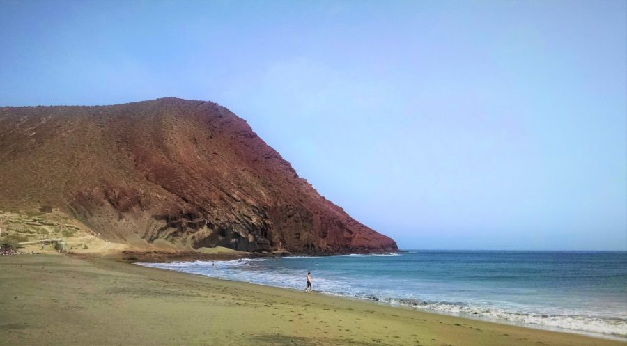 Playa de la Tejita, sur de Tenerife