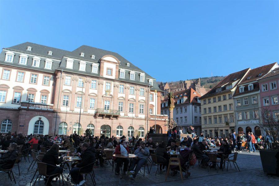 Plazas del centro histórico, lugares que ver en Heidelberg