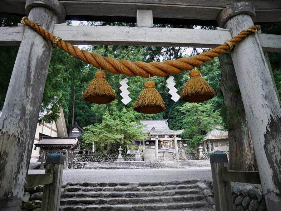 Templo de Shirakawa-go en los Alpes japoneses