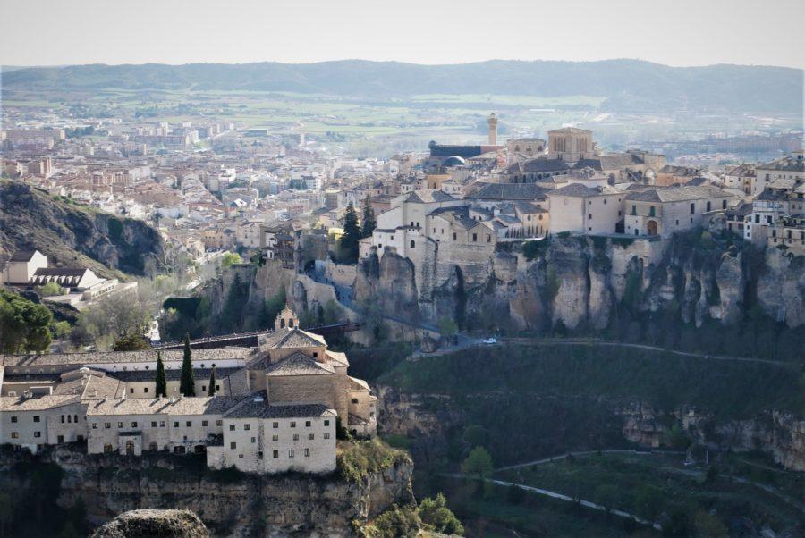 Vistas de Cuenca desde el mirador del Castillo