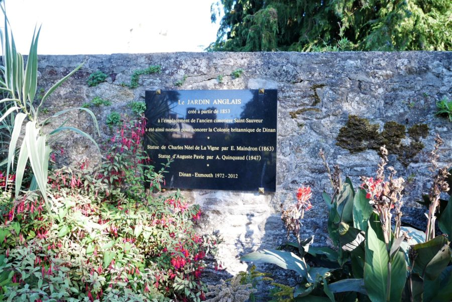 El Jardín Inglés, qué ver en Dinan, la Bretaña