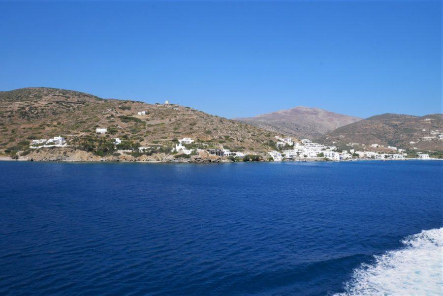 Llegada a Amorgos