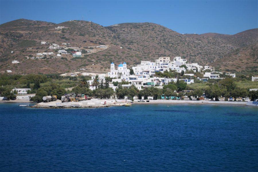 Puerto de Katapola, qué ver en Amorgos, islas griegas