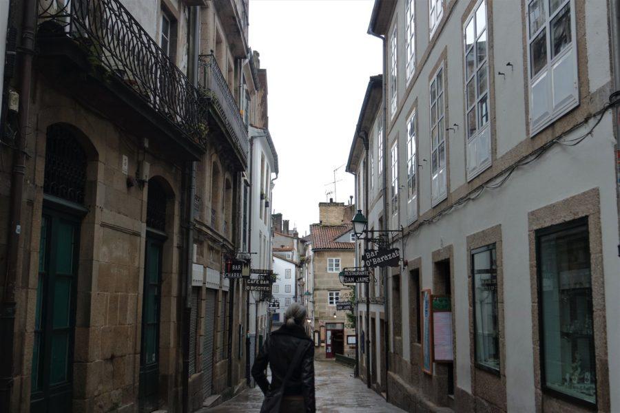 Rúa da Raiña, qué ver en Santiago de Compostela en un día